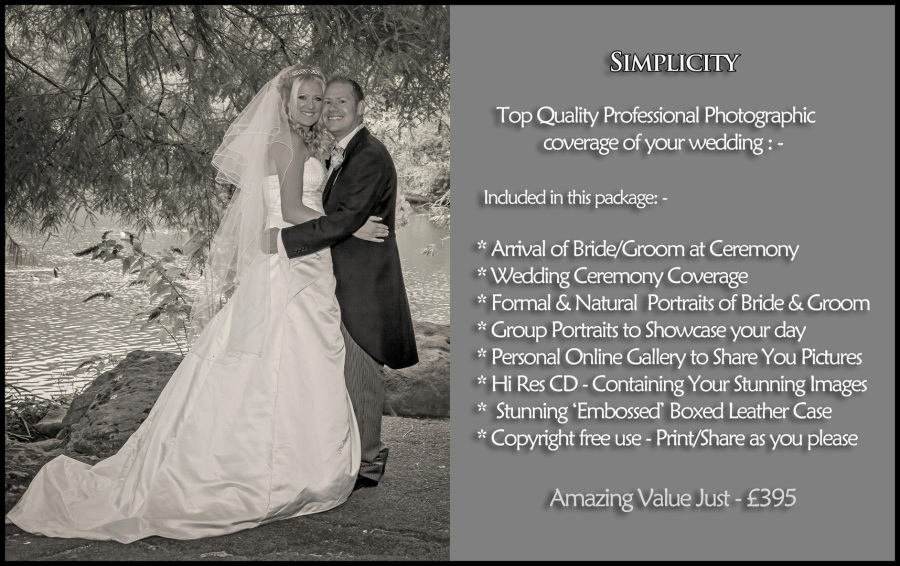 Top Value Wedding Photography Packages In Swindon Wiltshire